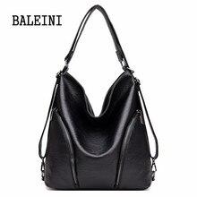 Bolso grande de piel auténtica para mujer, bolsa de mano femenina, informal, de alta calidad, de hombro, grande