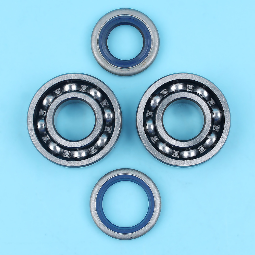 Crankshaft Bearings Oil Seals Set Fit For Husqvarna 365 371 372 372XP Jonsered 2063 2163 2065 2165 2071 2171 Chainsaw