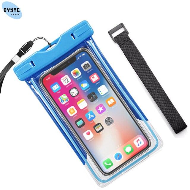 brand new ec549 e1388 US $2.9 23% OFF Water proof Bag For xiaomi redmi mi a1 a2 lite Xaomi mi 8  6x 5x Waterproof phone case Diving Camera Mobile Dry Cover Pouch case-in ...