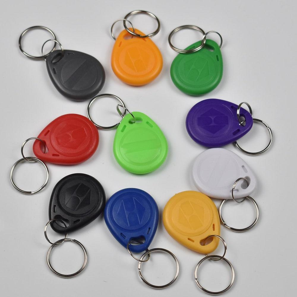 10pcs/bag ATMEL T5577 RFID hotel key fobs 125KHz rewritable readable and writable proximity ABS tags access control цена