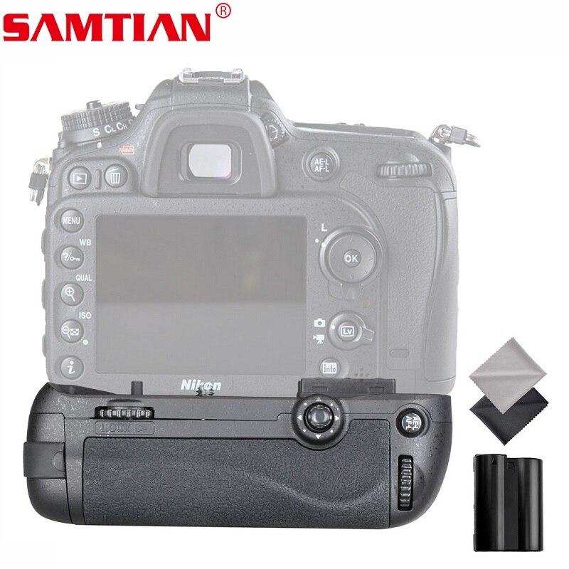 SAMTIAN caméra Vertical support de prise en main de batterie pour NIKON D7100 D7200 DSLR appareil photo remplacer MB-D15 par 1 pièces batterie de EN-EL15