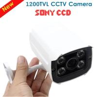 Freeshipping CCTV Chamber CCTV Camera Analog 1200TVL IR Cut Day Night Vision Outdoor 4pcs Leds