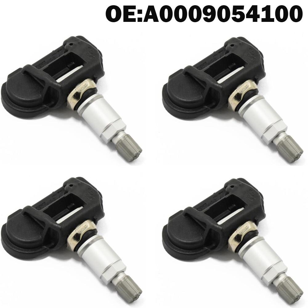 4 PCS Car TPMS Tire Pressure Monitor Sensor System for Mercedes Benz for CLA (C117) (X 156) GLK (X 204) GLE (W166)