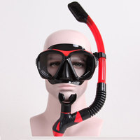 Whale High quality Diving Snorkel Mask Easy Breath Scuba Diving Swimming Snorkeling Gear with Silicon Diving Set