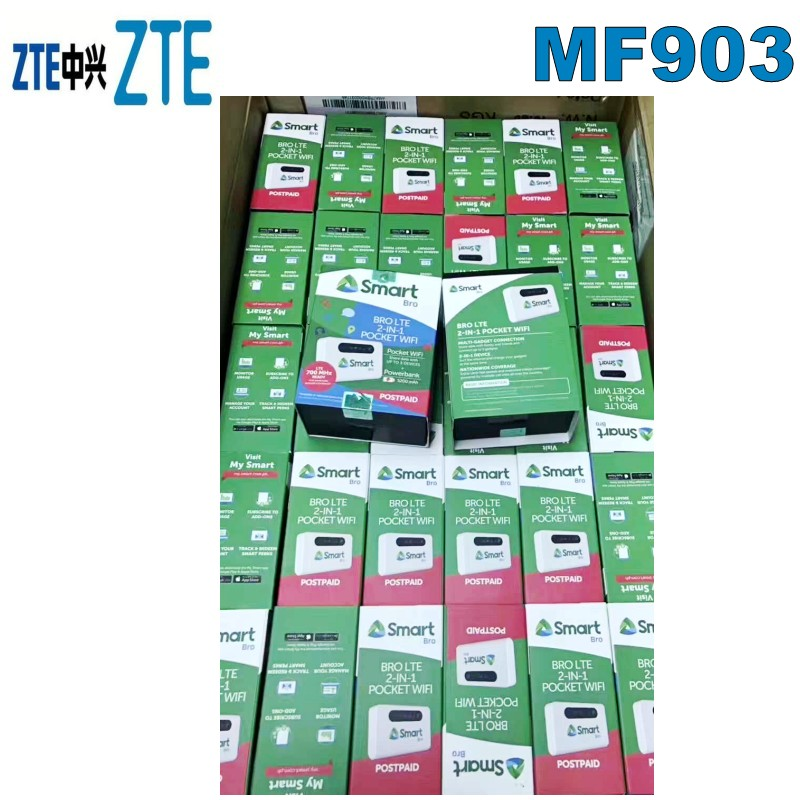 <font><b>ZTE</b></font> Lot of 100pcs <font><b>MF903</b></font> 4G LTE Mobile Hotspot image