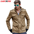 LONMMY M-3XL Bomber jacket for men Cotton jaquetas Military jacket men army Brand-clothing Casual 2016 Mens jackets and coats