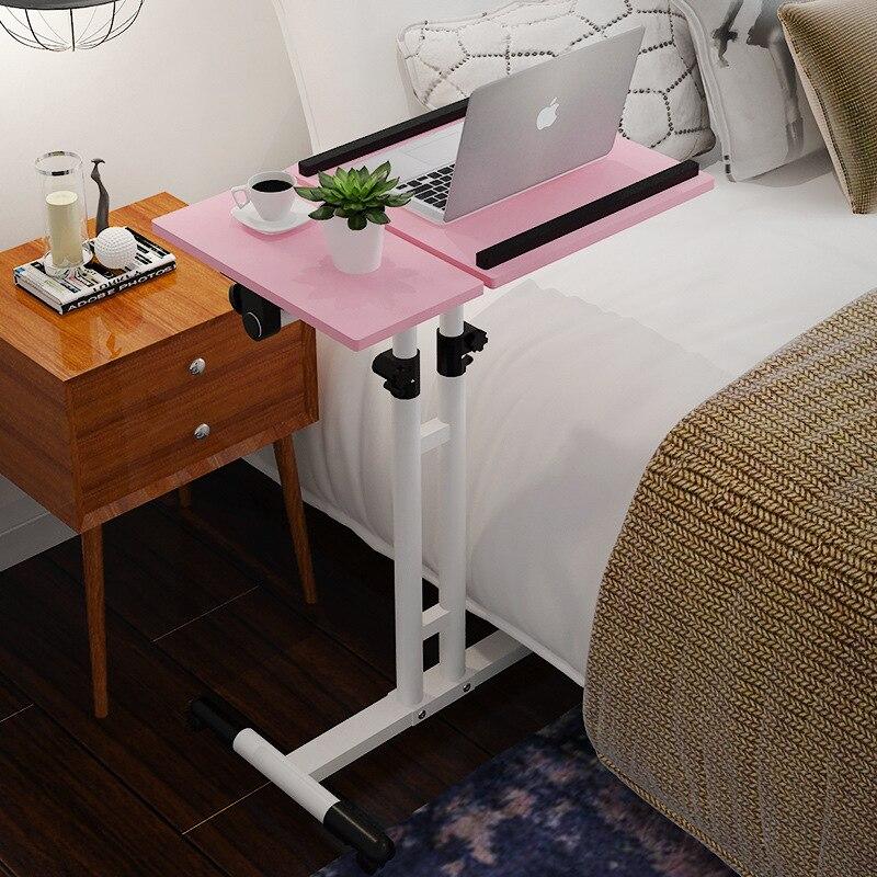 Простой современный ноутбук стол экономичный тип компьютерный стол бытовой Регулируемая тумбочка перемещение стола
