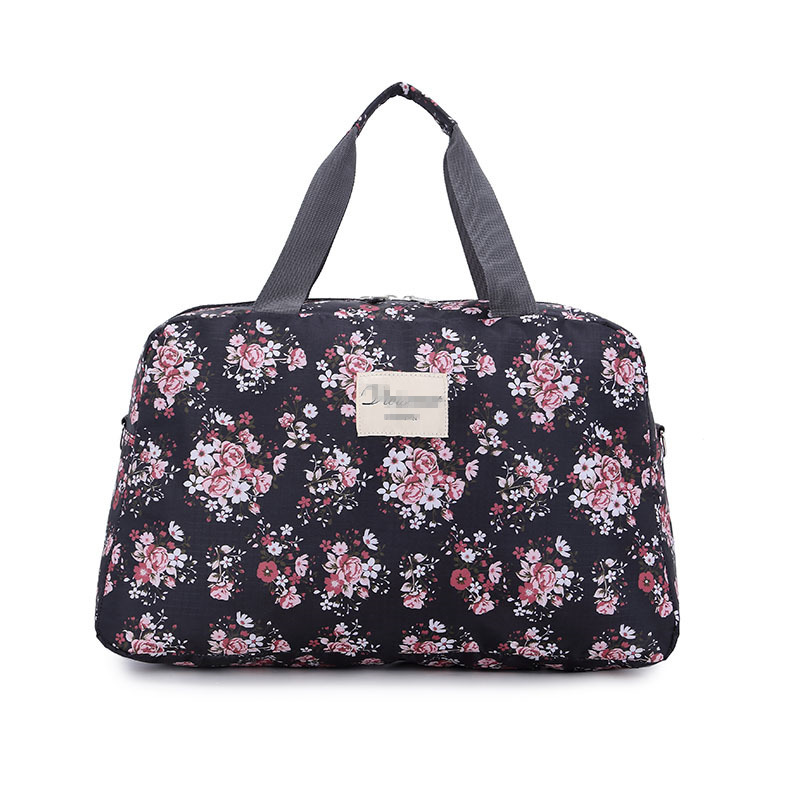 2019 Hot Women Lady Large Capacity Floral Duffel Totes Sport Bag Multifunction P