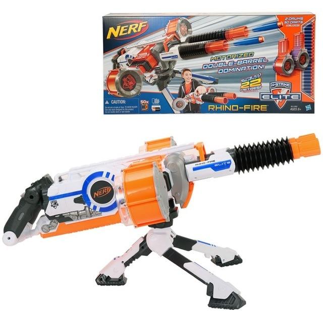 Nerf n-strike elite centurion mega blaster, foam darts, kid, toy gun
