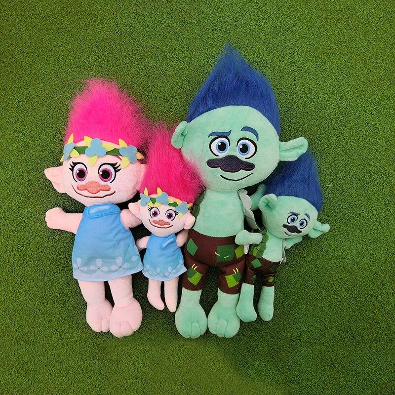 23-36 cm Dreamworks Trolls Movie Figure Muñecas de colección Poppy - Peluches y felpa