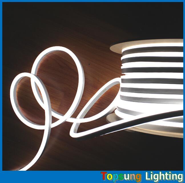 50M DC24V LED Neon Tube Lighting 8.5*17mm Ultra Slim Flexible Neon Lighting IP67 Waterproof Outdoor Neon Shop Signs