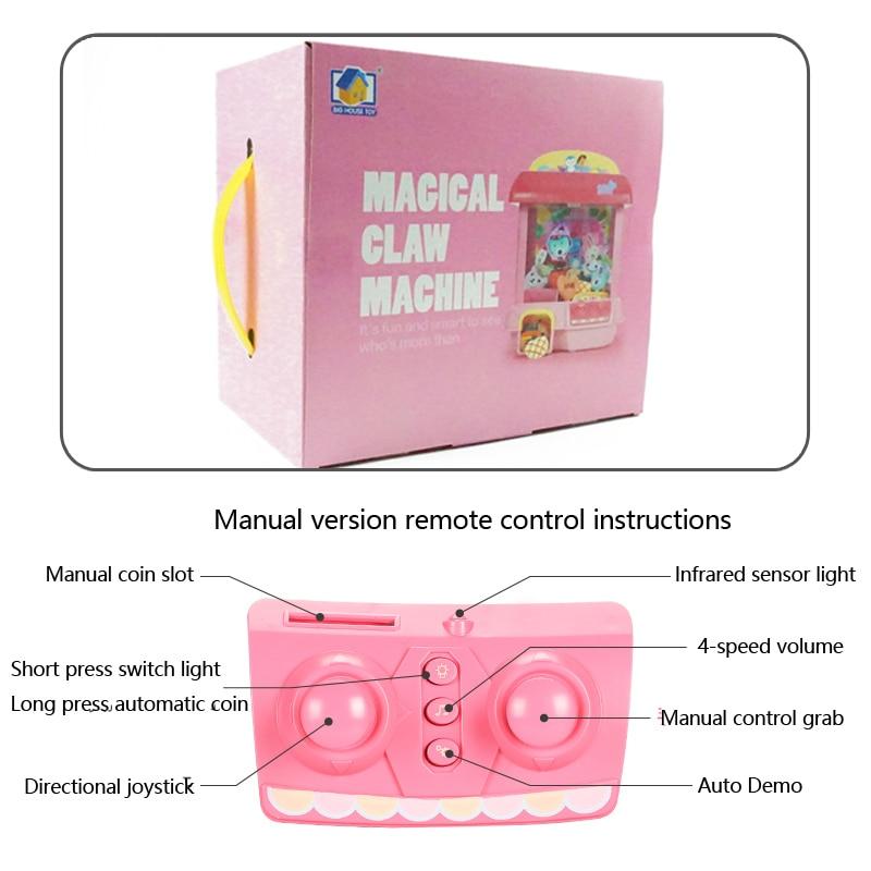Bricolage poupée Machine Rechargeable électronique attraper maison licorne poupée 12 Mini Mickey musique poupée en peluche Mnimals bébé jouets Lol poupées - 4