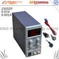 KPS-1505DF 0-15 V/0-5A 110 V-220 V 0.01 V/0.001A EU LED Mini Verstelbare digitale DC voeding mA display Voor US/EU/AU Plug