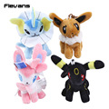 Anime Cartoon Monster Umbreon Sylveon Vaporeon Charizard Plush Pendant Toys Soft Stuffed Animal Dolls 10pcs/lot