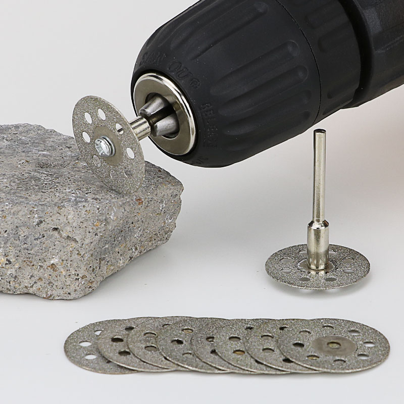 Diamond Grinding Wheel Saw Circular Cutting Disc For Dremel Rotary Tool Diamond Discs Blades Power Tools Accessories
