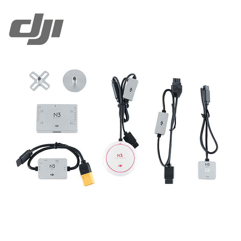 DJI N3 Naza Series Flight Controller Dual IMU Redundancy Sport Mode Drone Quadcopter SDK Fly Control Original naza m lite multi flyer version flight control controller w pmu power module