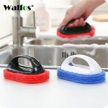 WALFOS 1 шт., волшебная губка, ластик, щетка для ванны, щетка для плитки, щетка для мытья, щетка для чистки, губка, аксессуары для ванной комнаты, кухонная щетка для чистки