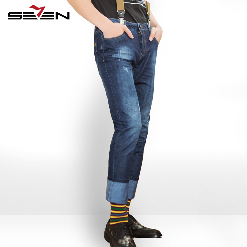 Seven7 Brand The Young Men's Jeans 2017 Summer New Leisure Fashion All-match Denim Trousers Slim Stylish Jeans 112S80350 roderick hunt annemarie young kate ruttle kipper s first match