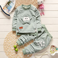 2017 Spring and Autumn Baby Long - Sleeved Cotton Cartoon Starfish Costume Kids Suits Leisure Sports Boy/Girls Clothing Sets