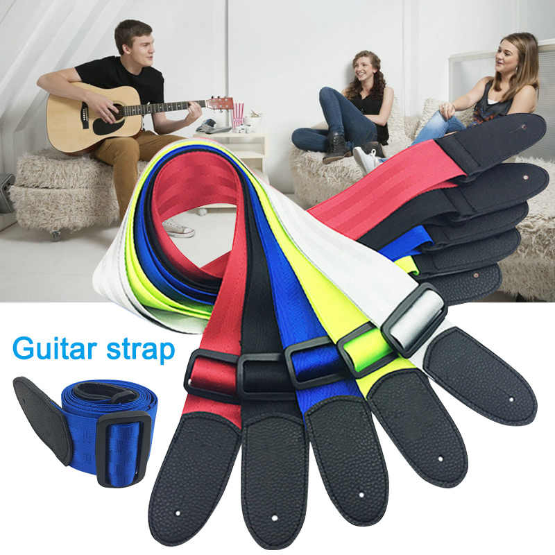 1pcs Guitar Strap Thick Minimalist Straps for Acoustic Ukulele Bass Electric Guitars YS-BUY