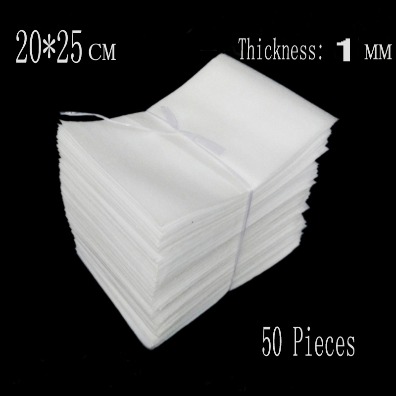 20 25cm 50pcs 1mm Decorative Packing Materials Epe