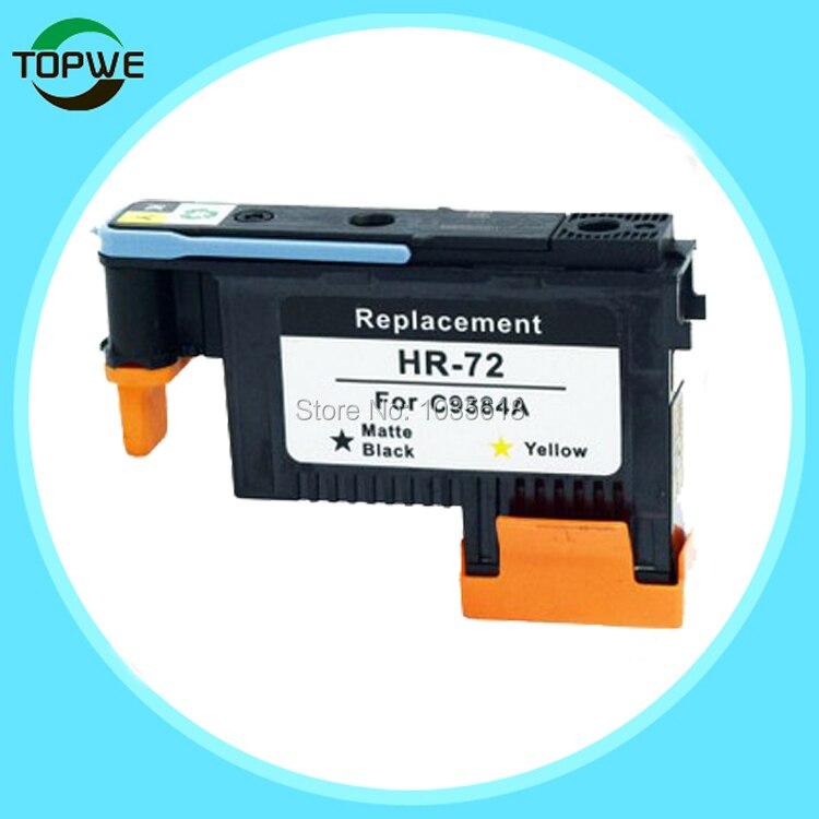 C9384A printer head for HP Designjet T1100 T790 T770 T610 T620 T1200 T1120 T2300 matte black +yellow color