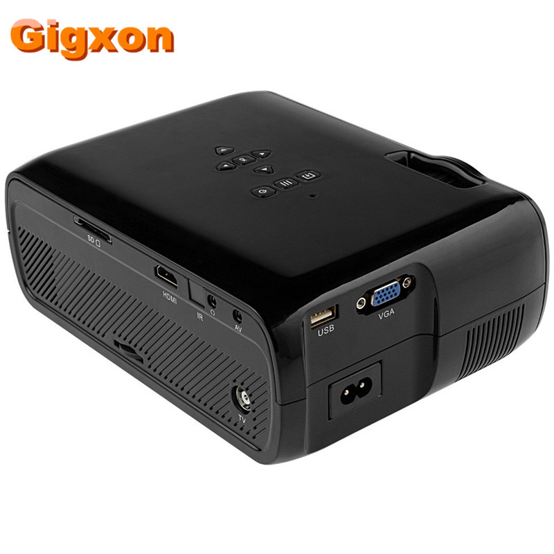 Gigxon - G80 1000 Ansi Lumens 1920 * 1080 Full HD Mini Portable - Audio dhe video në shtëpi - Foto 3