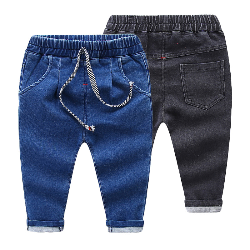 Girls Jeans Leggings Pants Toddler Baby Boys Kids Children for Cotton 1-5Y