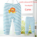 Free shipping 4pcs/lot 3M-24M baby pp pants newborn Animal long PantS leggings 100% cotton pants for girl and boy