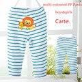O envio gratuito de 4 pçs/lote 3 M-24 M do bebê calças pp Animais recém-nascidos Calças compridas leggings 100% calças de algodão para a menina e menino