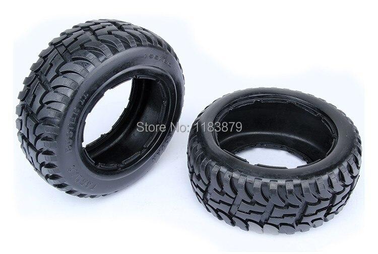 Rear Knobby Tire Set For Baja 5T 5SC 2PC 95163 baja 5b dirt tire set 2pc front 2pc rear