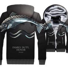 цена 2019 winter Game of Thrones men sweatshirts thick zipper hip hop jackets male hip-hop jacket coats funny 3D Print swag clothing онлайн в 2017 году