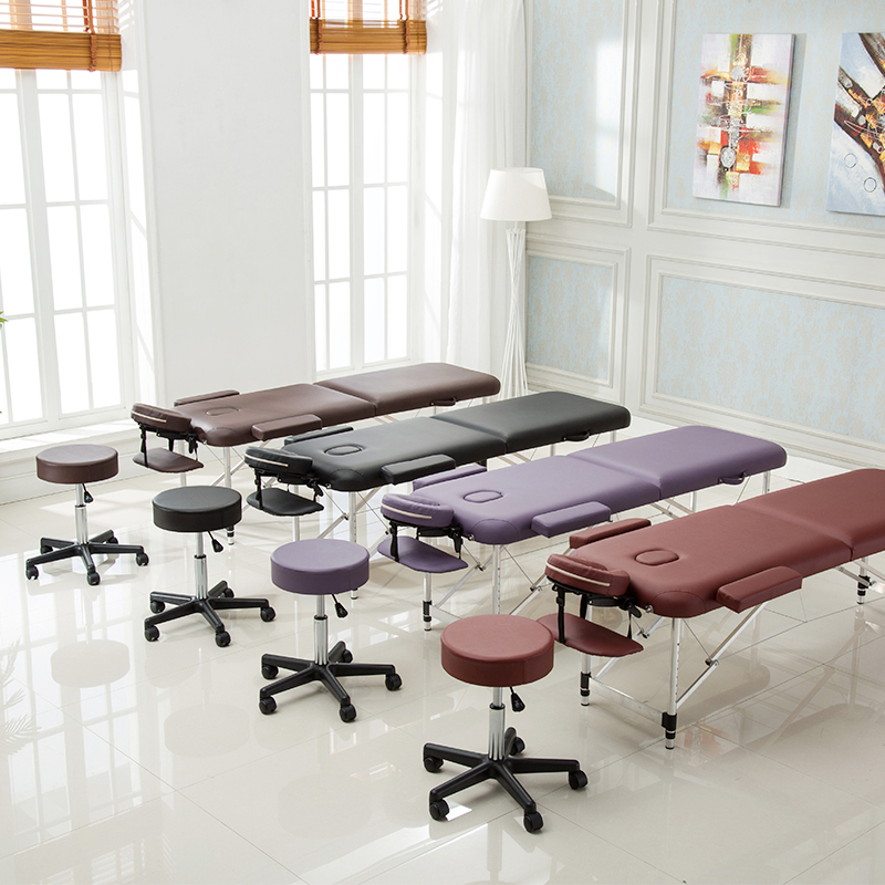 Professional Portable Spa Massage Tables With Bag Made Of Aluminum alloy Material 4