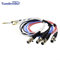 TD91 Upgraded Cable For AKG AKG K240 K271 K702 K712 Q701KL Headphone 3 5mm Jack Replacement