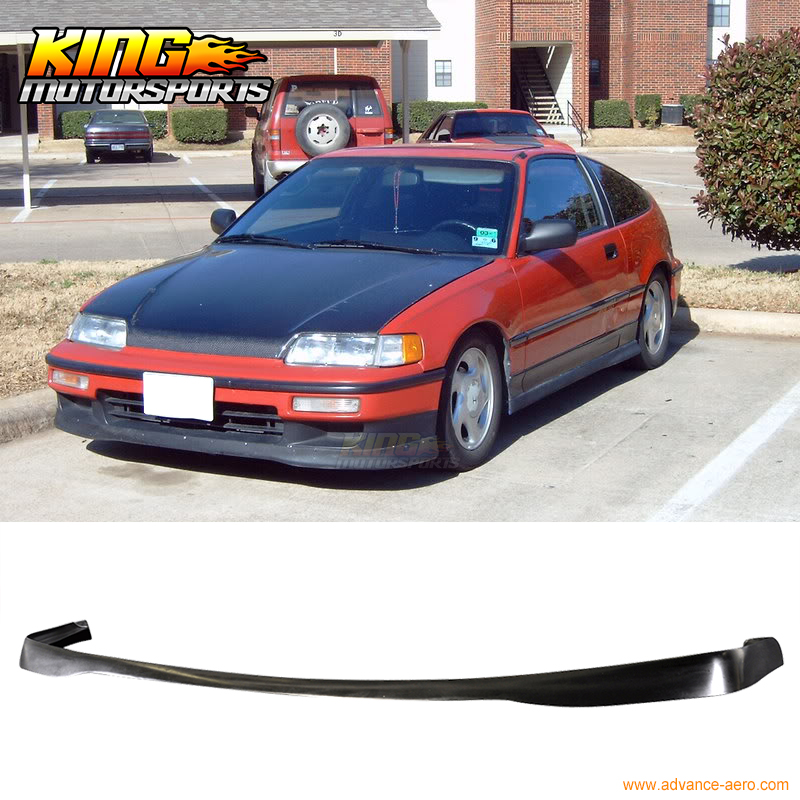 Poly, CRX, Front, Bumper, T-R, Style