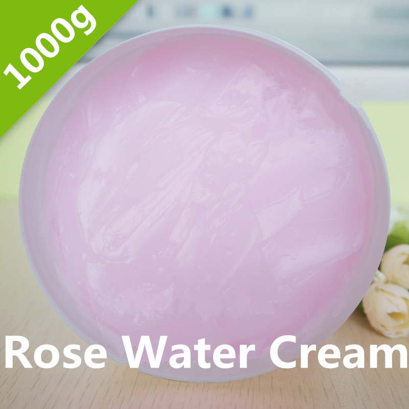 1KG Beauty Salon Equipment Products Rose Water Cream Moisture Whitening Moisturizing Globularness Cosmetics OEM rosehip rose moisturizing cream 125ml