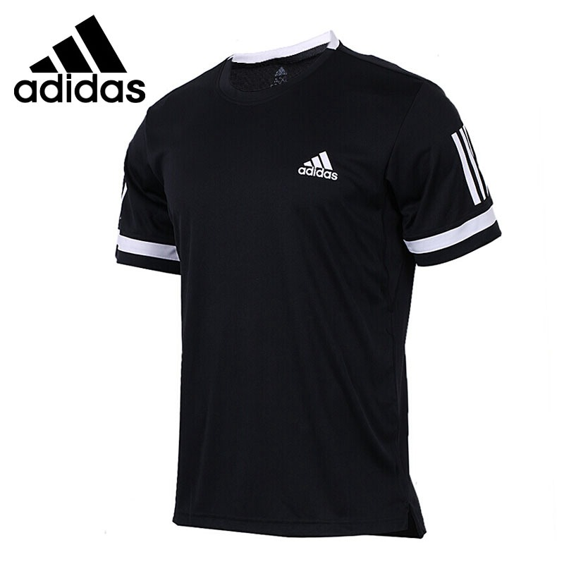 Original New Arrival  Adidas Perfomance CLUB 3STR TEE Men's T-shirts sleeve Sportswear