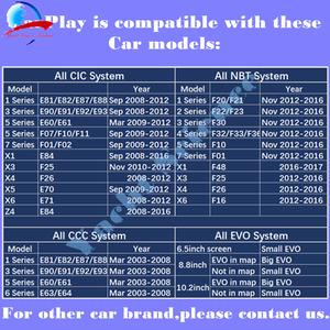 Image 5 - Wireless Apple CarPlay / Android Auto(by USB) Box Module for All BMW NBT CIC CCC EVO System for BMW 1 2 3 4 5 7 Series