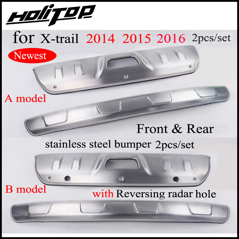 thicken stainless steel bumper protector skid plate bull bar for Nissan X trail Rogue 2014 2015