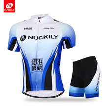 Nuckily cycling jersey and short summer most popular set for mens  MA002MB002