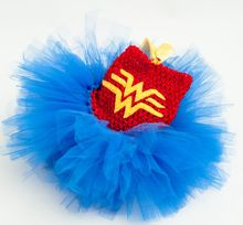 Wonder Woman 2 cosplay Girls TUTU Dresses Customize 2016 New Designer Organza Dress for Christmas party free shipping