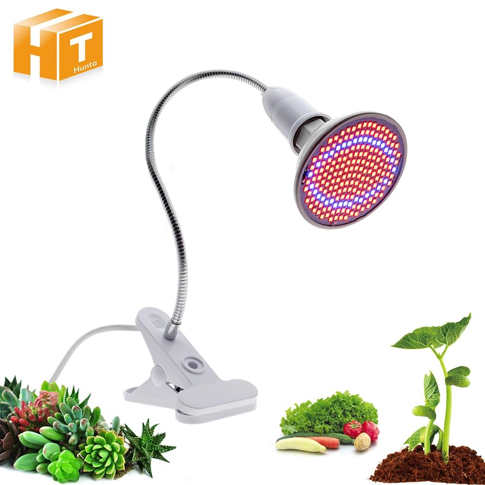 72 200 290 светодио дный s светодио дный светать гидропоники освещение с зажимом растений лампы для flower система гидропоники Крытый сад парников...