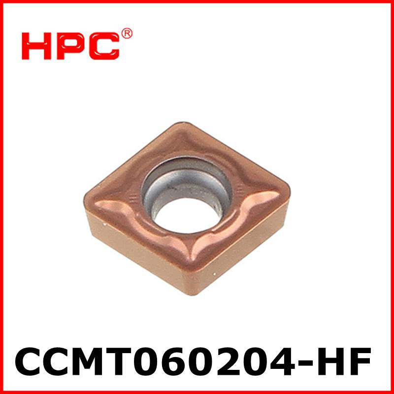 10 Pcs Of CCMT060204-HF ZT2080M Carbide Inserts Carbide Cutter For Turning Tool Boring Bar