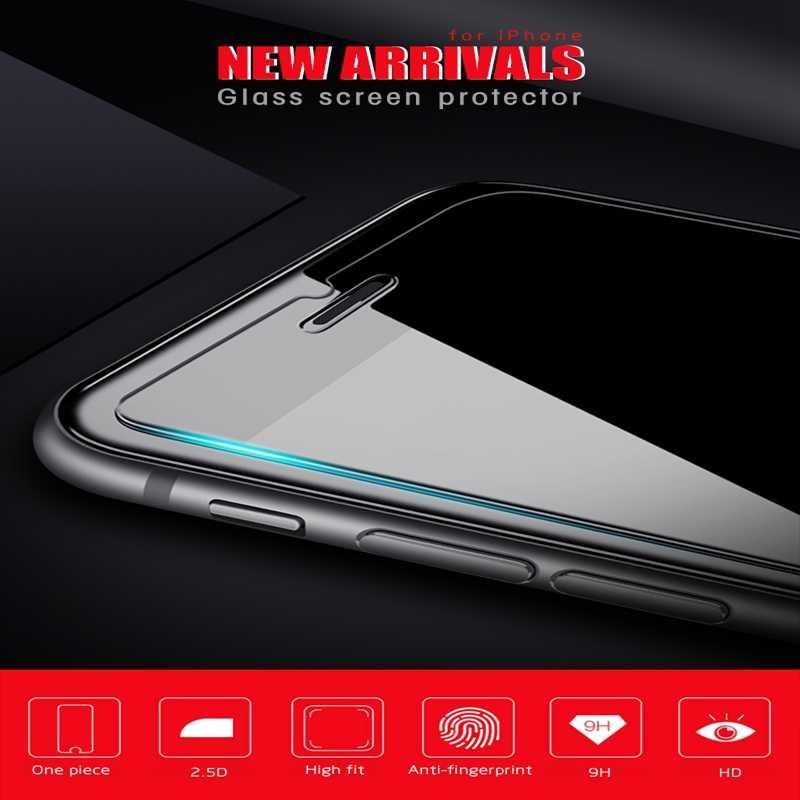 Твердость 9 H закаленное стекло для iphone X 8 7 6 6s Plus 5 5S SE передняя + задняя защитная пленка для экрана iphone XS MAX X 8 7 Plus