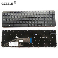 Русская клавиатура GZEELE для HP ProBook 450 G3 , 455 G3 , 470 G3 650 G2 RU, черная клавиатура для ноутбука