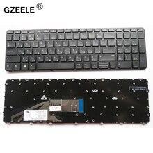GZEELE Tastiera Russa per la Tastiera HP ProBook 450 G3 , 455 G3 , 470 G3 650 G2 RU Nero tastiera del computer portatile