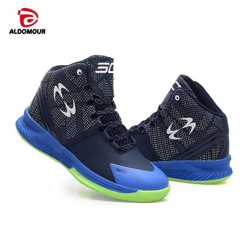 bd47589d6 ALDOMOUR 2018 الرجال حذاء كرة السلة الذكور حذاء من الجلد في الهواء الطلق  الرجال أحذية رياضية أحذية رياضية النساء كرة السلة رياضية أومUSD 54.39/pair