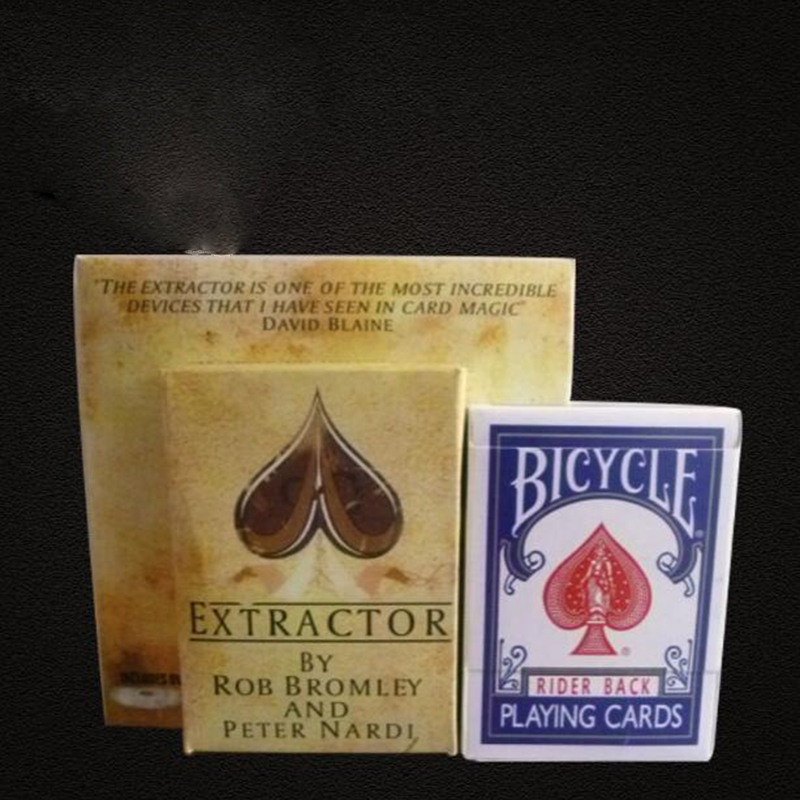 Extractor Card Deck With Dvd Instructions Magic Tricks Close Up