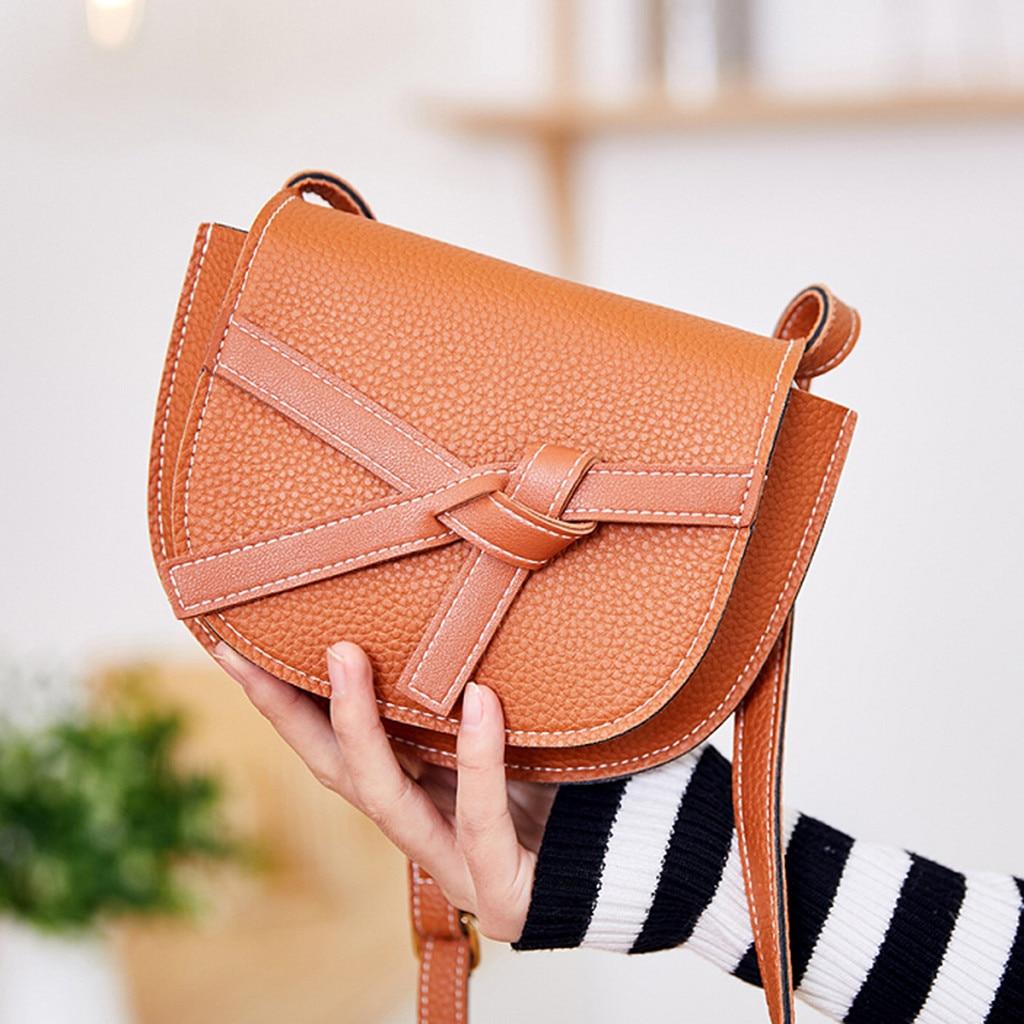 Women Small PU Leather Crossbody Bags Tassel Shoulder Bag Designer Handbags Female Messenger Bag