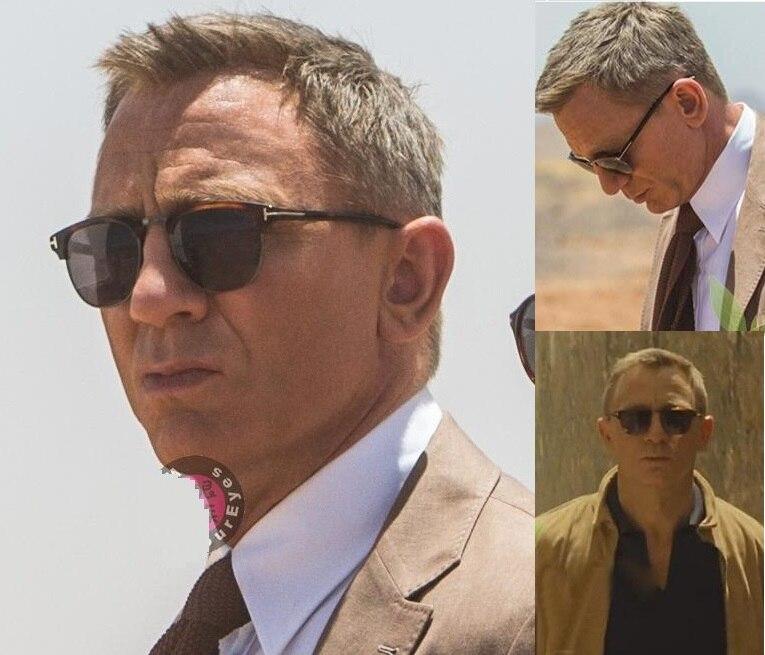 2018 James Bond lunettes de soleil hommes marque Designer lunettes de soleil femmes Super Star célébrité conduite lunettes de soleil Tom pour hommes lunettes